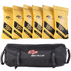 60 lbs Goplus Fitness Exercise Weighted Sandbags SP35788SP35790 - NutritionalInstitute.com