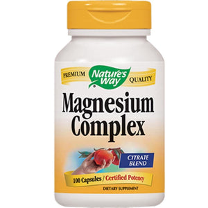 Nature's Way Magnesium Citrate Complex 100 caps 41051 - NutritionalInstitute.com