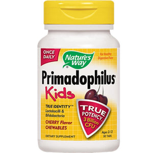 Nature's Way Primadophilus Kids Cherry Flavor 30chew 14243 - NutritionalInstitute.com