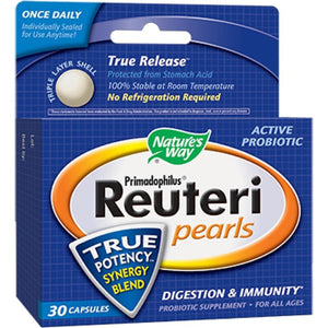 Nature's Way Reuteri Pearls 30 pearl 15752 - NutritionalInstitute.com