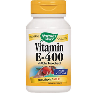 Nature's Way Vitamin E 400 IU 100 gels 40211