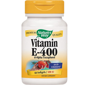Nature's Way Vitamin E 400 IU 60 gels 40210
