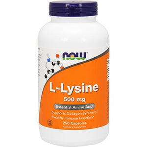 NOW LLysine 500 mg 250 caps 0112 ME
