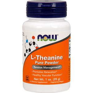 NOW L-Theanine powder 1 oz 0262 ME