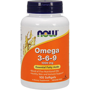 NOW Omega 369 1000 mg 100 softgels 1835 ME