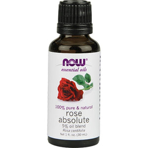 NOW Rose Absolute 5 Blend Oil 1 oz 7597 - NutritionalInstitute.com