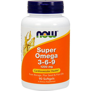 NOW Super Omega 369 1200 mg 90 softgels 1839 ME