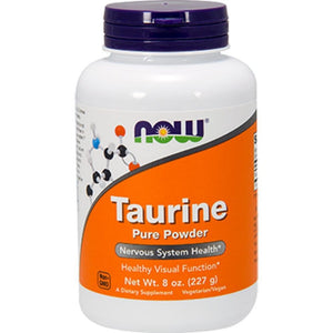 NOW Taurine Powder 100 Pure 8 oz 0260 ME