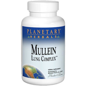 Planetary Herbals Mullein Lung Complex 850 mg 90 tabs PF0002 ASD