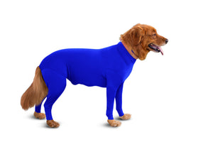 Shed Defender Reduce Dog Hair Shedding & Anxiety RoyalBlue M IHI