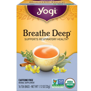 Yogi Teas Breathe Deep 16 bags 420047 ASD ME