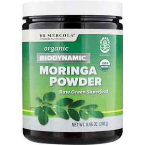 Dr. Mercola Biodynamic Moringa Powder 120 servings 10228 EM