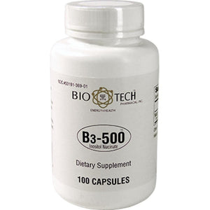 Bio-Tech B3 500 Supporting For Improving Cholesterol Levels 100 Capsules