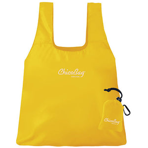 "ChicoBag Org Buttercup Yellow Reusable Shopping Bag 17"" x 15"" 233234 OC IHI"