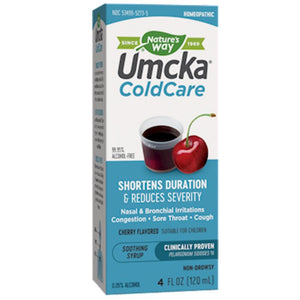 Nature's Way Umcka ColdCare Syrup Cherry 4 oz 15273 ASD ME