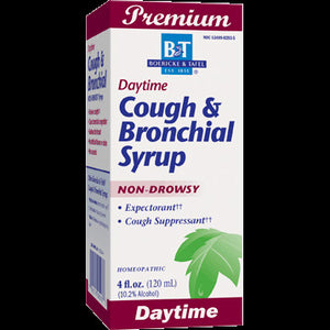 Boericke Tafel Cough Bronchial Syrup Support Cough Due To Minor Throat 4 Ounces - NutritionalInstitute.com