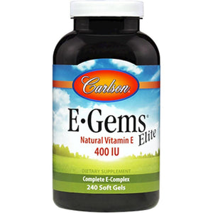 Carlson Labs Egems Elite Supplement Potency And Quality Guaranteed 240 Gels ME