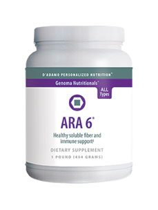D'Adamo Personalized Nutrition ARA 6 Powder 1 lb NP025 ASD ME