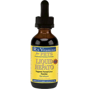 Rx Vitamins for Pets Liquid Hepato for Pets Chicken 4 oz Liver Support 8815