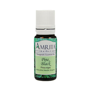 Amrita Aromatherapy Pine Black Help Coughs Asthma Relieves Pain 10 ml 4582-10 ME