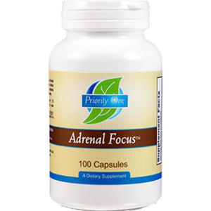 Priority One Vitamins Adrenal Focus100 caps 1004 - NutritionalInstitute.com