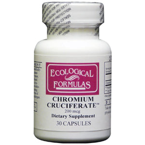 Ecological Formulas Chromium Cruciferate 200 mcg 30 caps CHROM