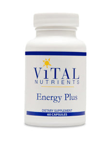 Vital Nutrients Energy Plus 60 caps VNEP ME