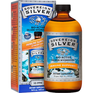 Sovereign Silver Silver Hydrosol 10 ppm 16 oz 48CS10 ME