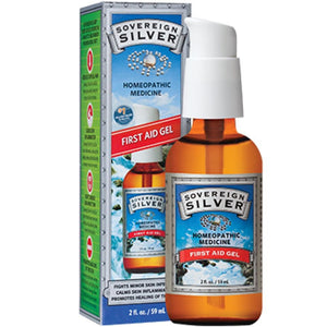 Sovereign Silver Silver First Aid Gel 2 oz 60HG10