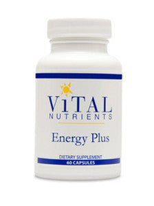 Vital Nutrients Energy Plus 120 caps CA ONLY VNEP2CA