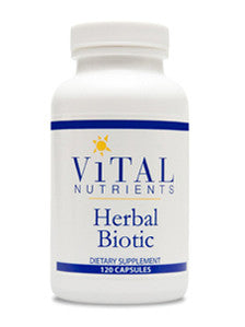 Vital Nutrients Herbal Biotic 120 caps CA ONLY VNHB120CA