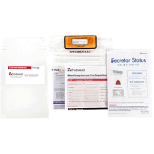 D'Adamo Personalized Nutrition Secretor Test 1 kit TE007 ME