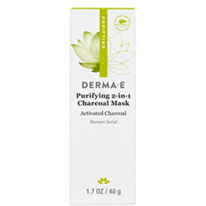 Derma E Purifying 2 in 1 Charcoal Mask 1.7 oz 1220 ME