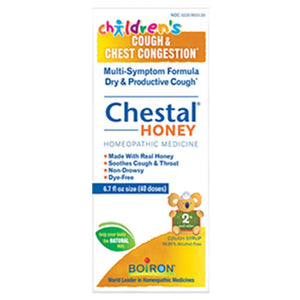 Boiron Chestal Children Cough Honey Helps Relieve All Types Of Common Coughs 6.7 Ounces