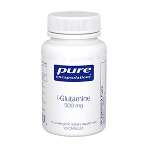 Pure Encapsulations L Glutamine 500 mg 90 vcaps LG59 - NutritionalInstitute.com