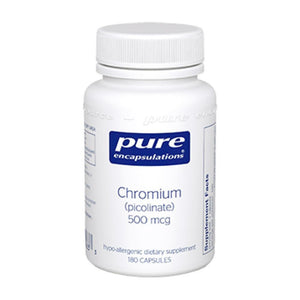 Pure Encapsulations Chromium picolinate 500 mcg 180 vcaps CRP51