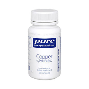Pure Encapsulations Copper glycinate 2 mg 60 vcaps CUG6 ME