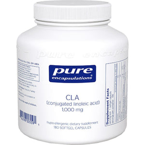 Pure Encapsulations CLA 1000 mg 180 gels CL11 ME