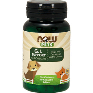 NOW GI Support for Dogs Cats 90 chewable tab 4305
