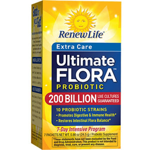 Renew Life Ultimate Flora Extra Care 200B 7 packs 15859 ASD ME