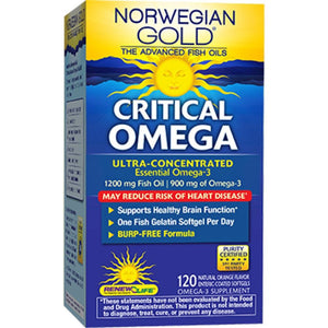 Renew Life Norwegian Gold Critical Om 120 softgels 15405 ASD ME