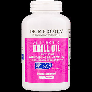 Dr. Mercola Krill Oil for Women with EPO 270 caps 100003
