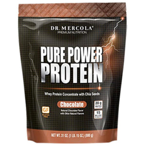 Dr. Mercola Pure Power Protein Chocolate 31 oz 10061