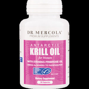 Dr. Mercola Krill Oil for Women with EPO 90 caps 100002