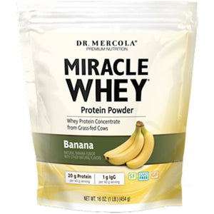 Dr. Mercola Miracle Whey Banana 1 lb 10005