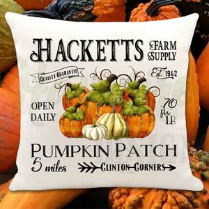 HACKETTS PUMPKIN PATCH