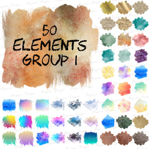 50 ELEMENTS GROUP 1
