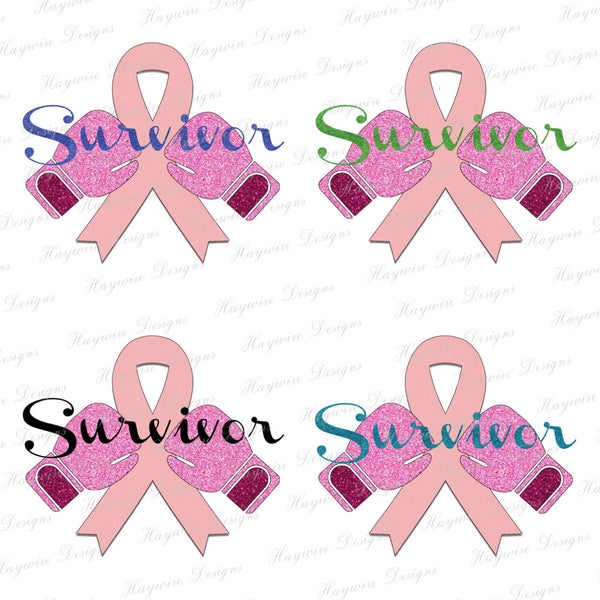 BREAST CANCER SURVIVOR -  4 Colors