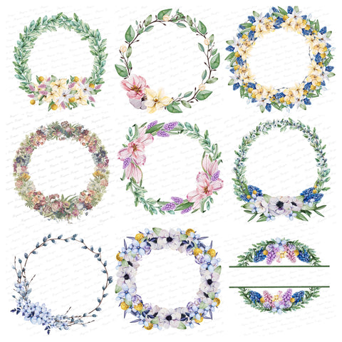 WREATH BUNDLE - 13 IMAGES