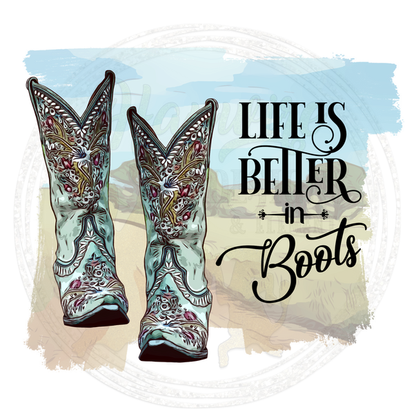 LIFE IS BETTER IN BOOTS & TAKE ME HOME COUNTRY ROADS - 2 Files